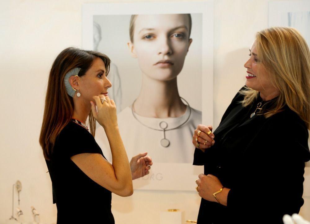 Marie de danemark au salon de bijoux et montres for Salon de marie